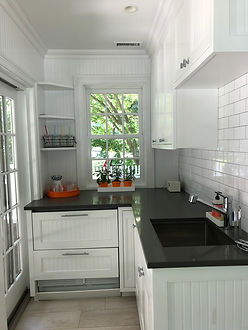 Organized Small Kitchen