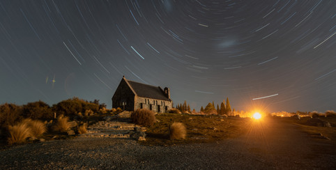 Star Trails @ The Church of the Good Shepherd