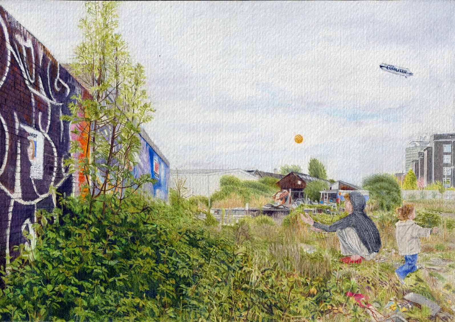 kaplan carmel, painting | Amsterdam