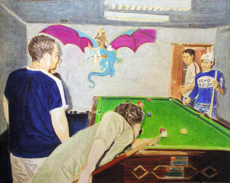 kaplan carmel | paintings | billyard