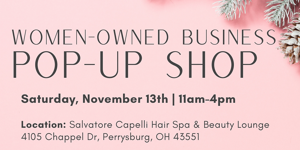 Women-Owned Business Pop-Up Shop