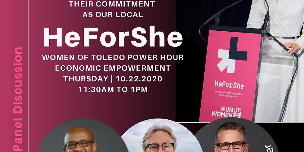 Virtual- WEE: HeForShe