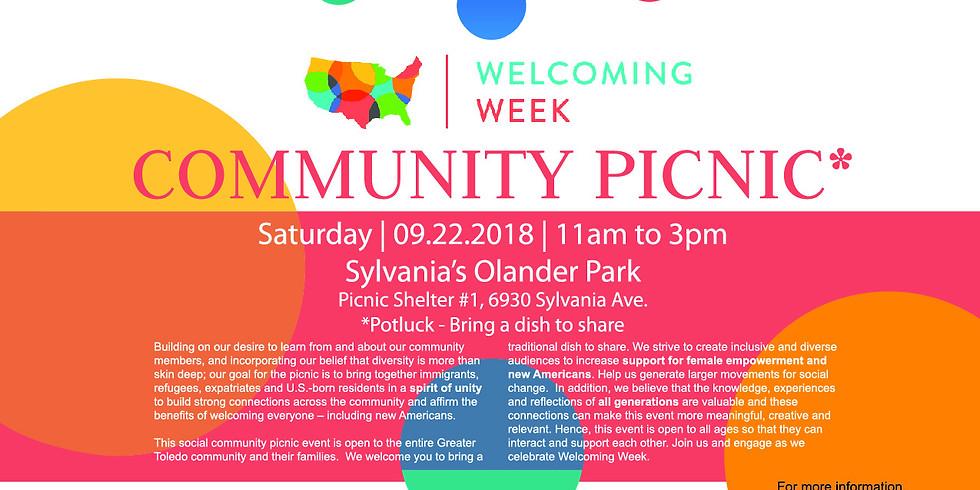 Welcoming Week: Picnic