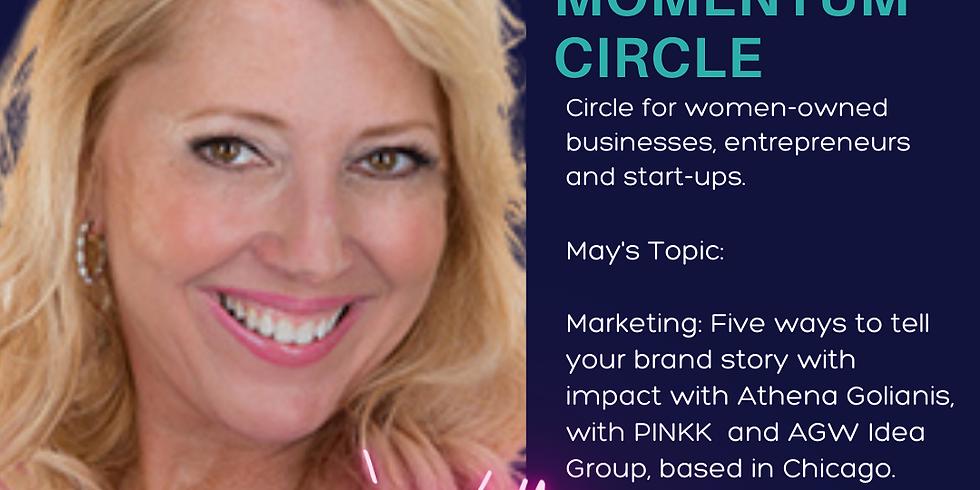 Virtual -Momentum Circle: May