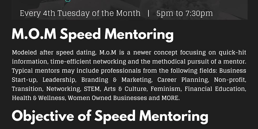 May M.o.M: Speed Mentoring
