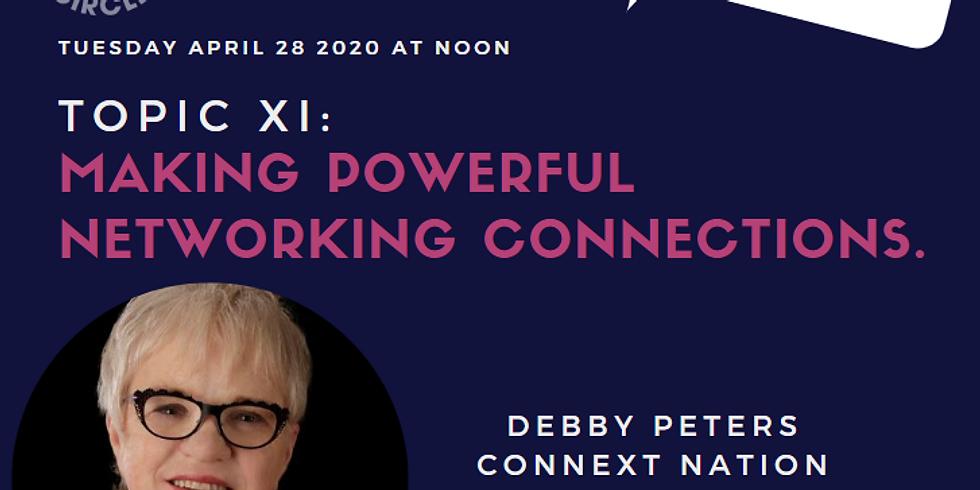 Virtual- Power Hour Series XI - Debby Peters
