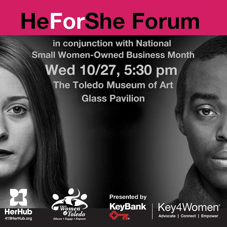 HeForShe: In conjunction with National Women's Small Business month