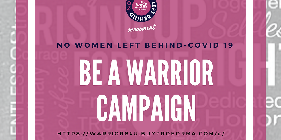 Warrior T-Shirt/COVID-19 Campaign