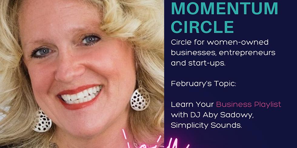 Virtual -Momentum Circle: Feb