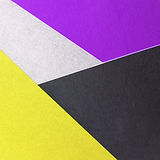 yellow-black-and-purple-colored-papers-2