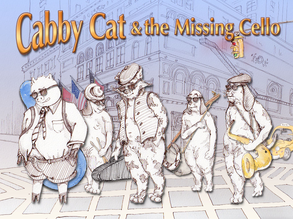 Cabby Cat & the Missing Cello