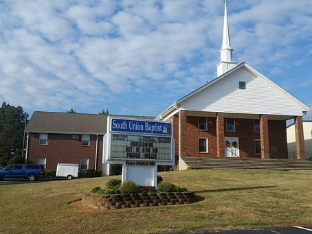 Tugalo Holler at South Union Baptist