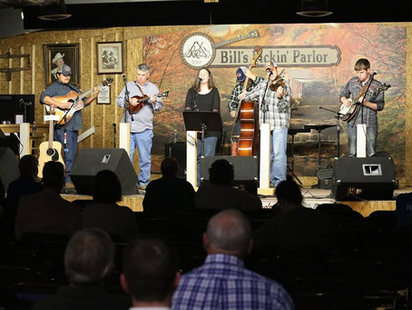 Bluegrass for Hope at Bill's Pickin' Parlor