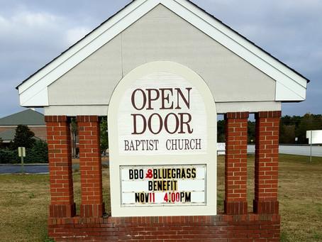Open Door Baptist Church, 11/11