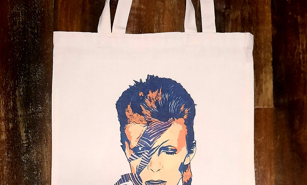 BOWIE Buffalo Canvas Tote