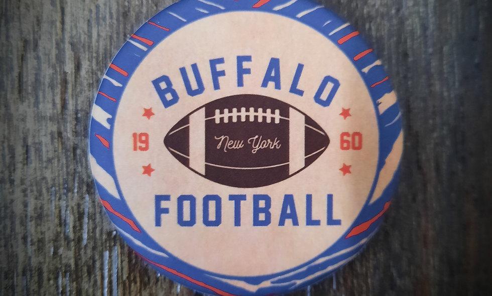 Buffalo Football Magnetic Bottle Opener (2.25in)
