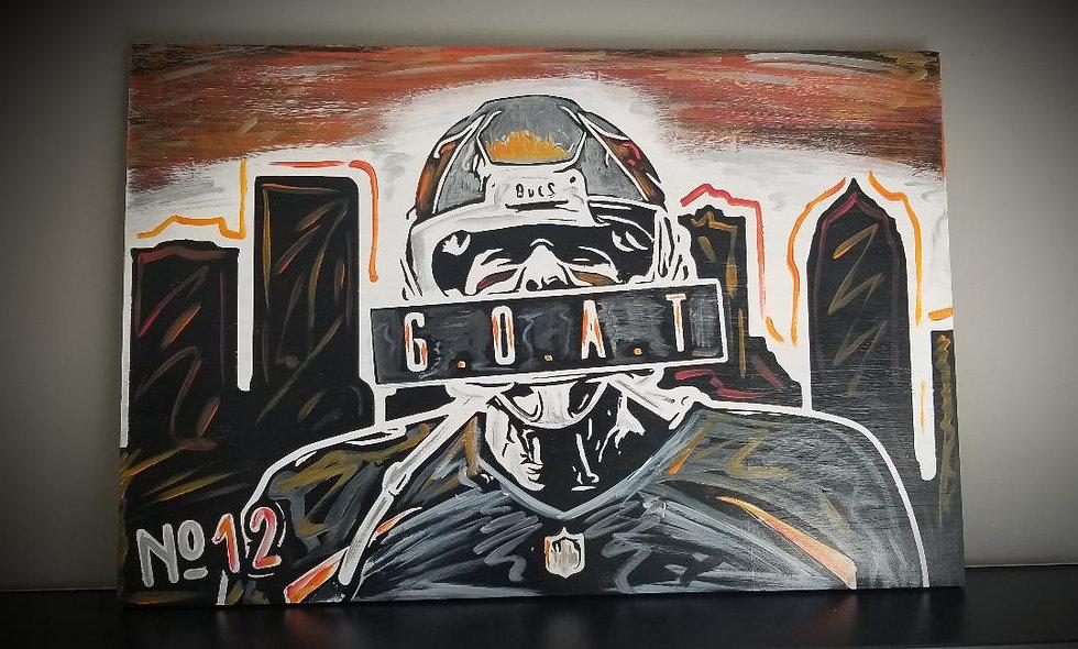 Tom Brady Bucs G.O.A.T.