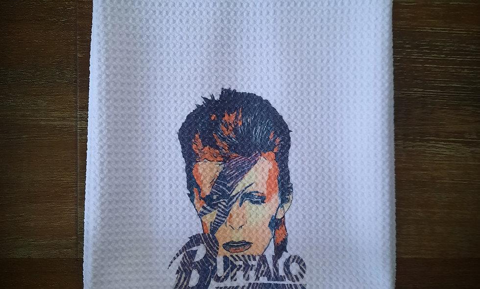 BOWIE Buffalo 16x24 Waffle Tea Towel