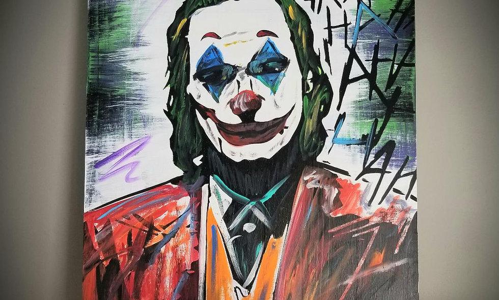 Joaquin Phoenix (Joker) 16x20