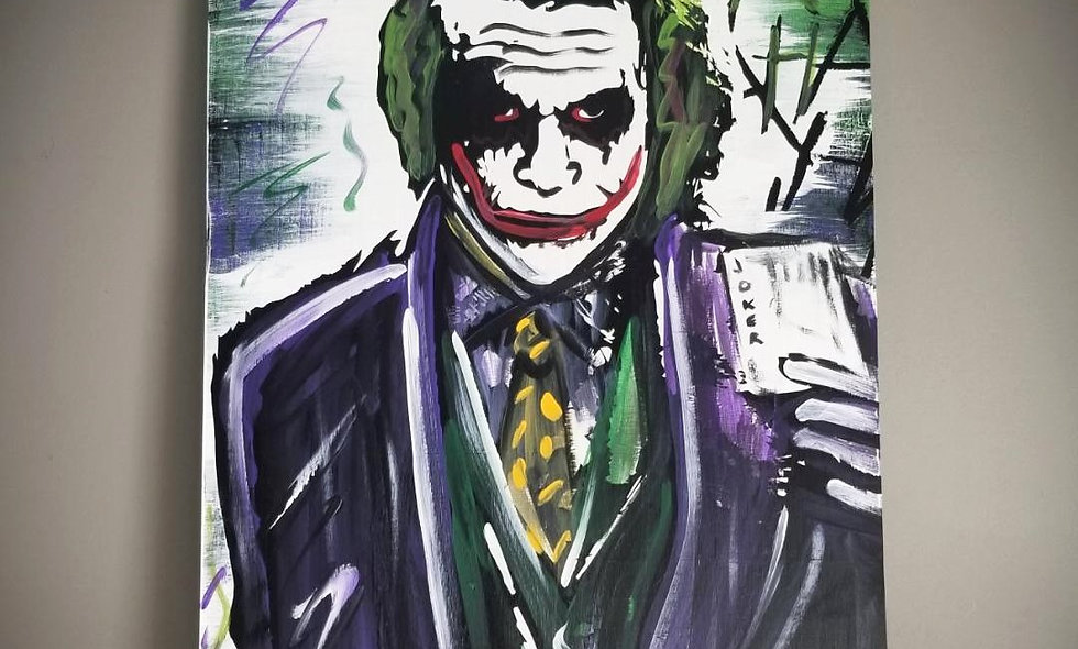 Heath Ledger (Joker) 16x24