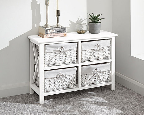 Padstow 2+2 drawer chest