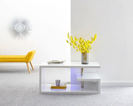 POLAR LED Coffee Table High Gloss