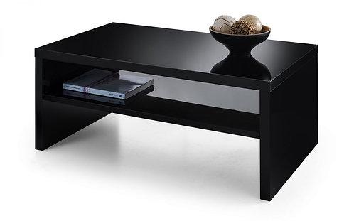 Metro High Gloss Coffee Table - Black