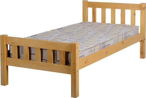 Carlow Single Pine Bed Frame