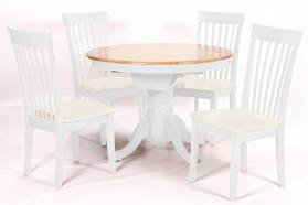 Leicester White Dinning Set