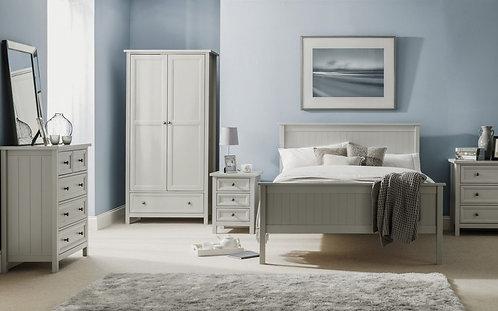 Maine Bed - Dove Grey