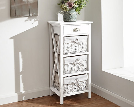 Padstow 1+3 drawer chest