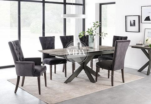 Pembroke Dining Chair Wooden Leg