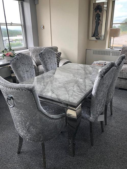 Chester Dining Chair Chrome Leg