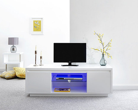 POLAR LED Large TV Unit High Gloss