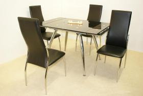 Magna Extending Dining Set 4