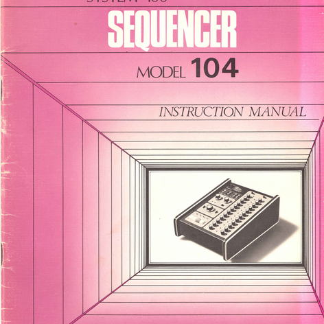 System 100 Sequencer 104