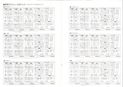System 100m Patch Sheets
