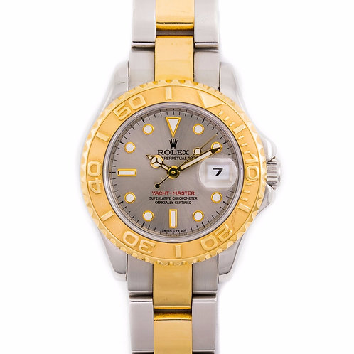 Yacht Master Steel and Gold