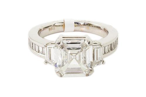 1.5 Ct.Three Stone w/ Accent Diamonds