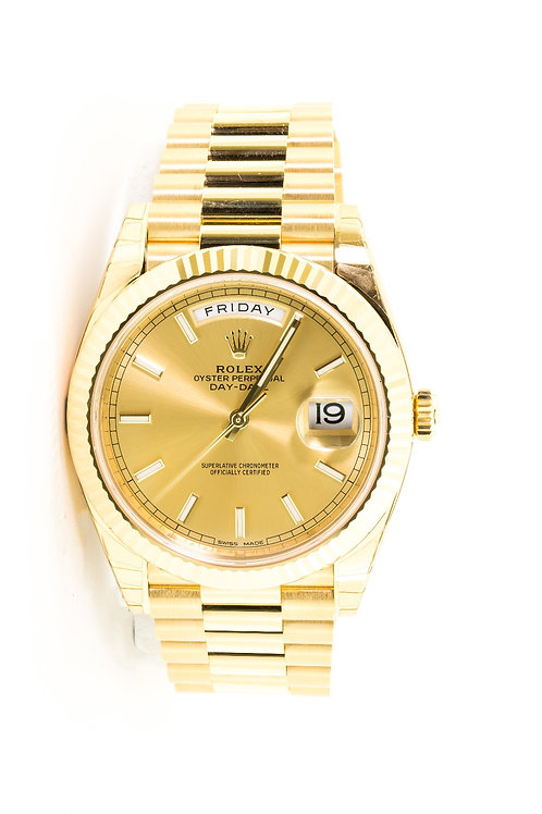 Gold Oyster Perpetual Day-Date