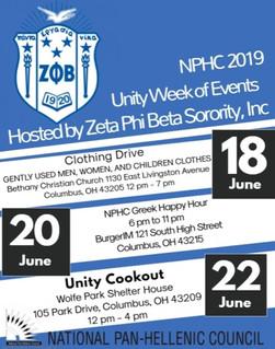 2019 NPHC Unity Weekend