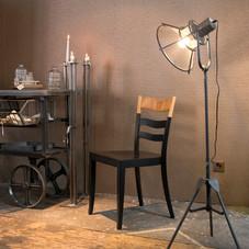 Stuhl Schwarz Natur