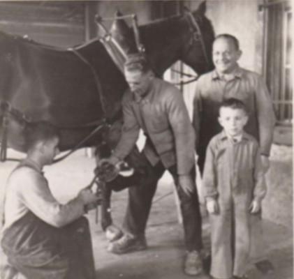 Anton Laupper mit Sohn Anton