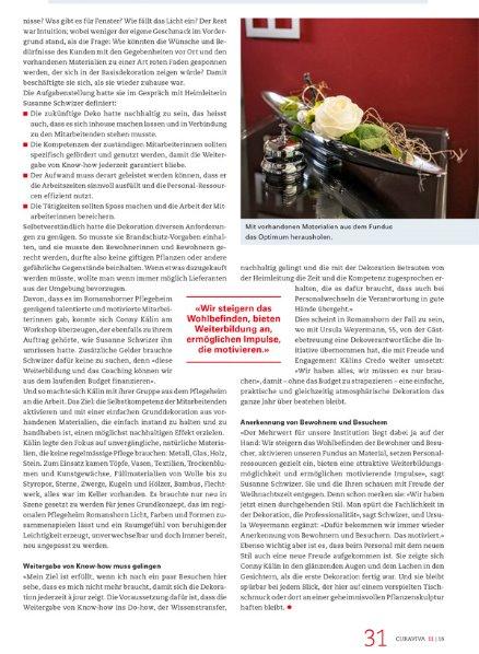 Curaviva Fachzeitschrift 3