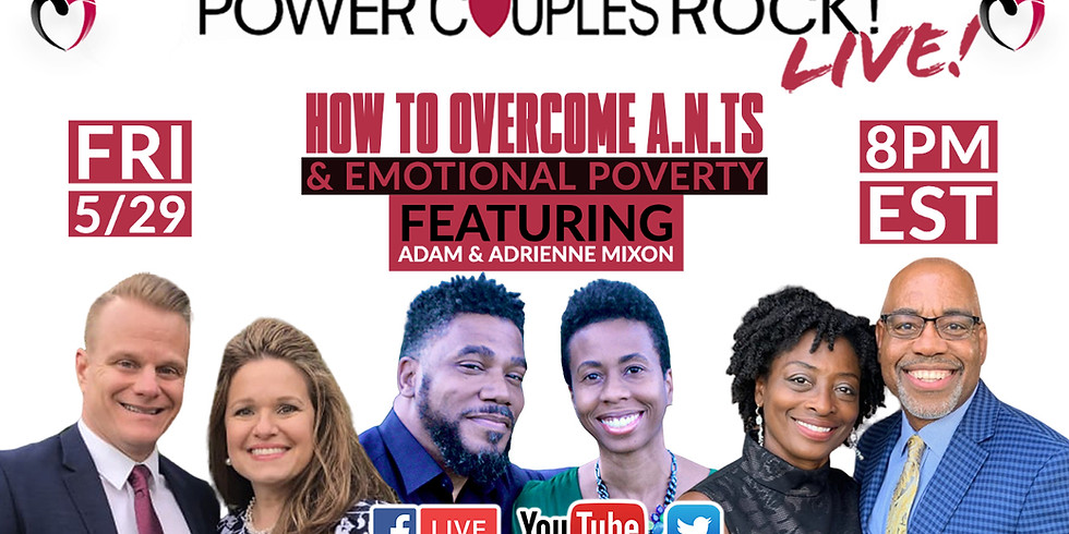 PCR Live Event: How To Overcome A.N.T.S & Emotional Poverty