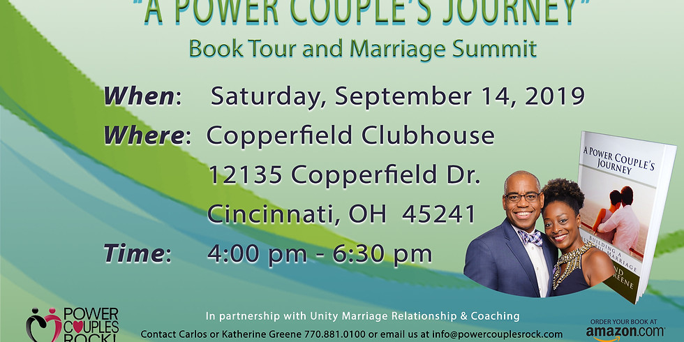 Book Tour: A Power Couples Journey Book Tour and Marriage Summit