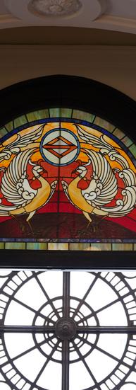 横浜開港記念会館ステンドグラス
