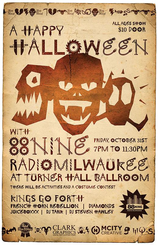 88Nine_halloween_poster