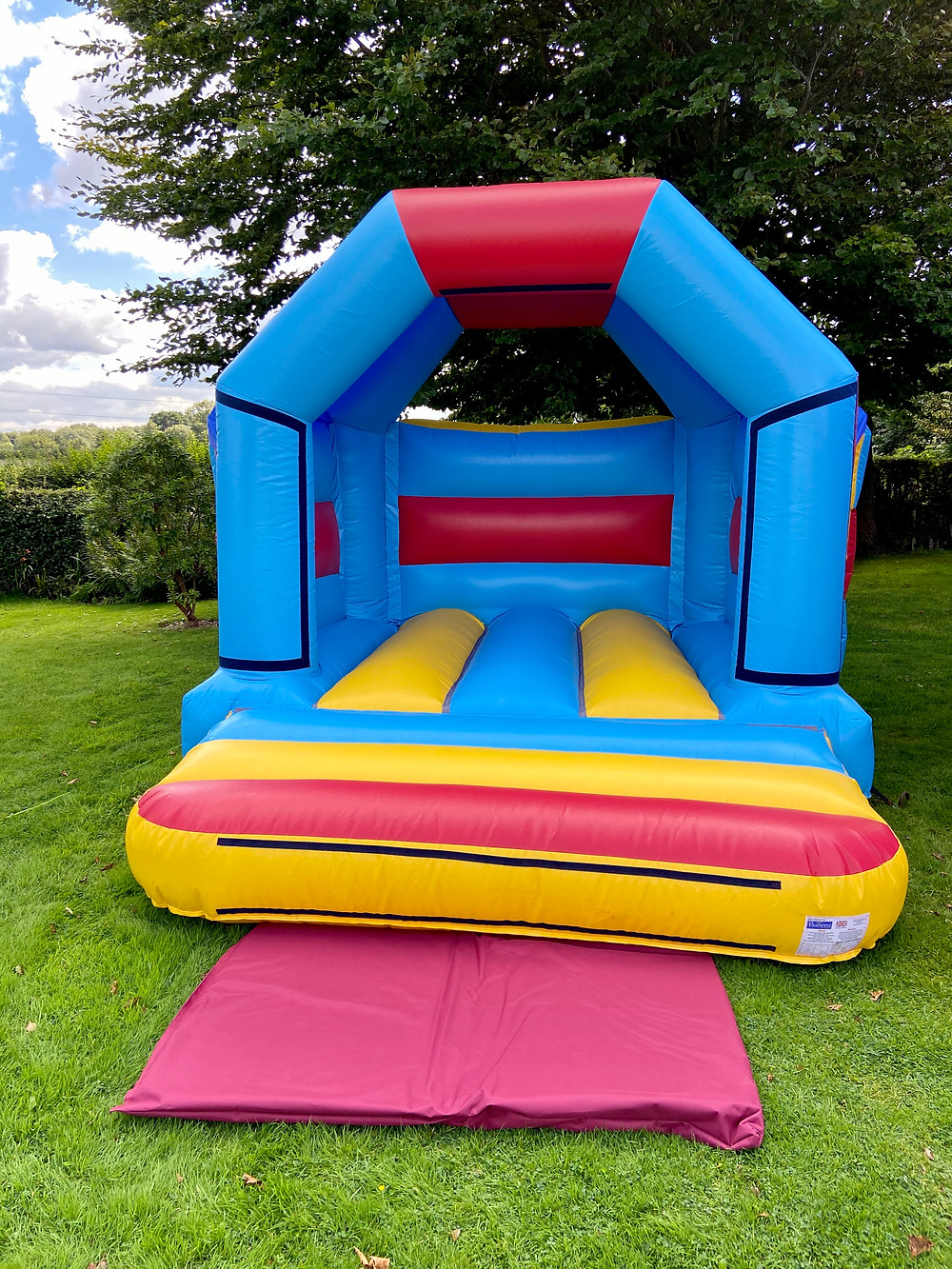 12ft x 10ft Bouncy Castle outside