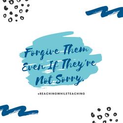 You are a Forgiver!